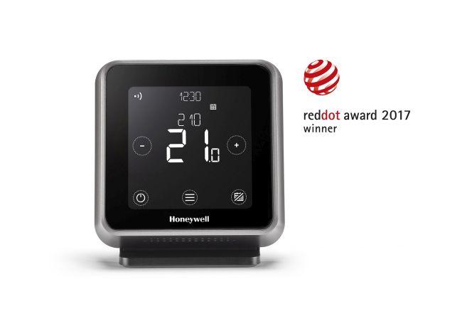 Il cronotermostato Serie T6 premiato con il red Dot Design 2017