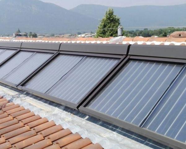 Esempio della protezione per pannelli solari
