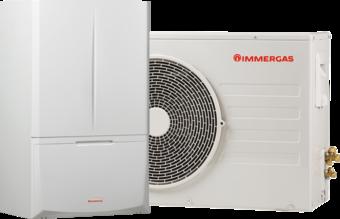 La pompa di calore di Immergas