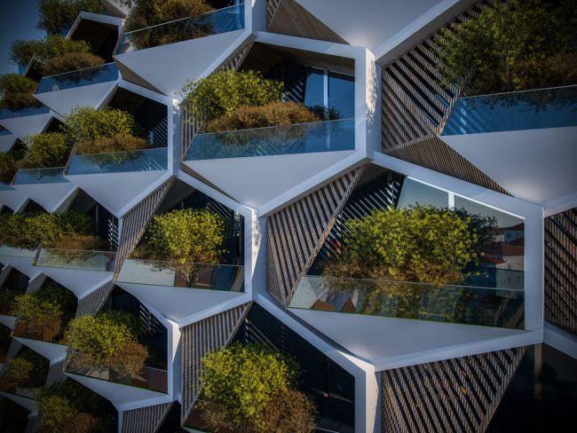 Ogni modulo abitativo di urban rural avrà un giardino coltivabile.