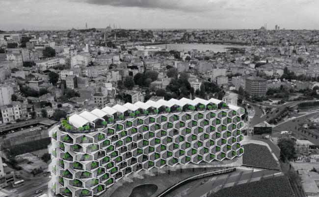 Sul tetto dell'Urban Rural sorgerà un orto urbano coltivabile dai condomini