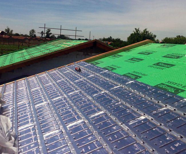 Per l'isolamento termico di due villette ad alta efficienza energetica scelte le soluzioni Isolconfort