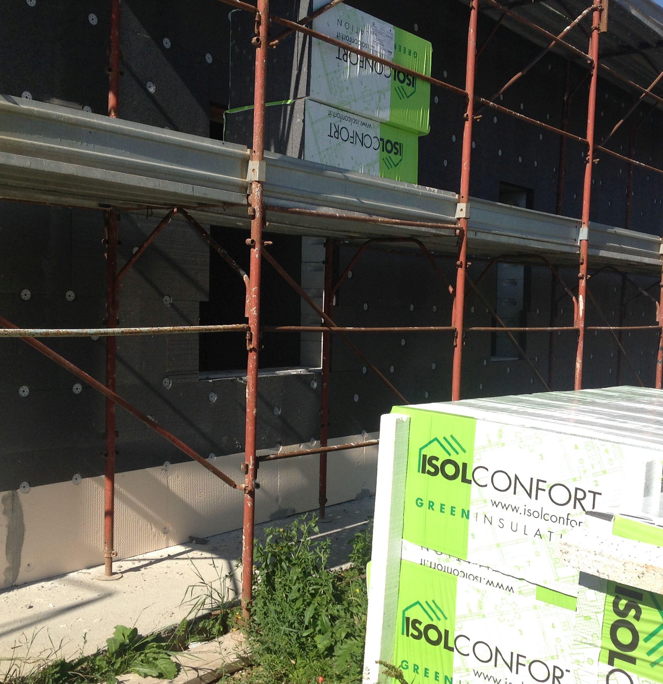 Pannelli Eco Dur Zeta e eco por G031 di Isolconfort per l'isolamento termico delle pareti