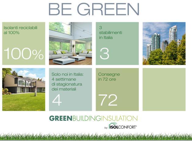 Le scelte green di Isolconfort