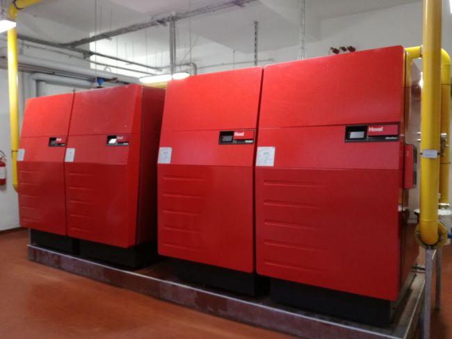 Comfort in condominio di Milano con la tecnologia a condensazione con la caldaia UltraGas® 800 D Hoval
