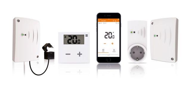 Sistema rialto per il controllo del riscaldamento anche in diverse zone dell'abitazione