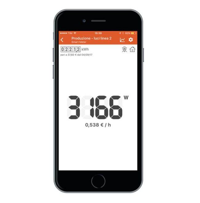 Le informazioni di Smart Meter sono consultabili via App