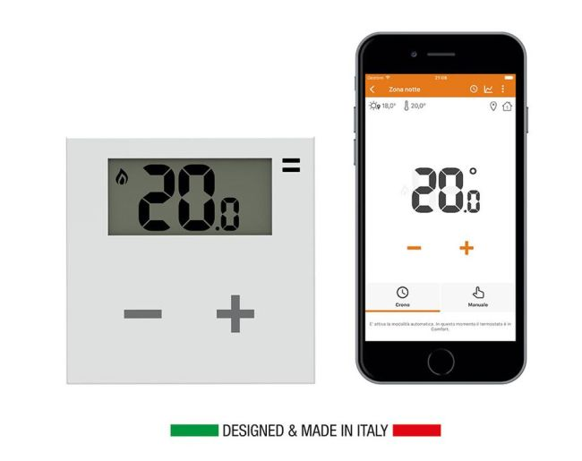 Termostato wireless rialto smart thermostat
