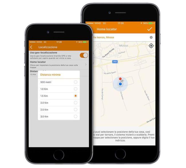 Kit thermo è dotato di controllo tramite App