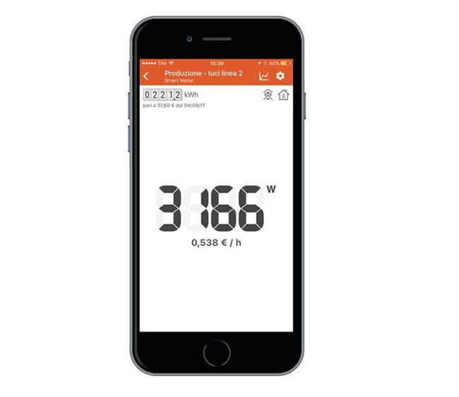 kit energy monitor consultabile tramite app