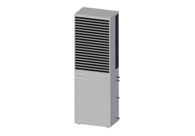 Integra è una pompa di calore da esterno compatta ed efficiente di Thermics
