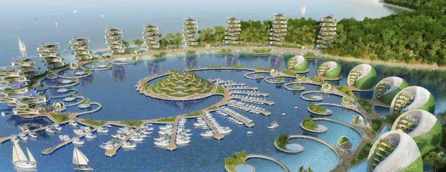 L'Eco resort Nautilus è realizzato solo con materiali di riciclo