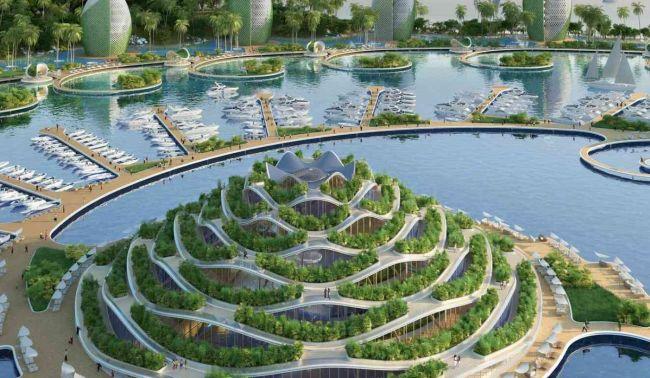 Eco resort nautilus nelle Filippine, progetto sostenibile e futuristico