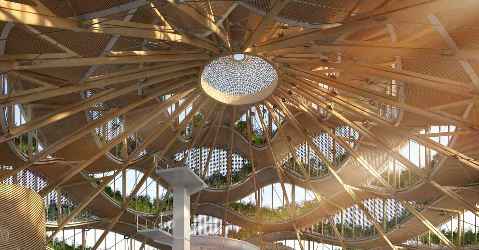 L'illuminazione dell'Eco resort Nautilus sarà soffusa e naturale