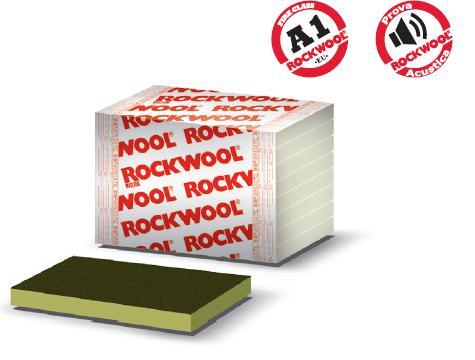 Pannello in lana di roccia per l'isolamento termico acustico Fixrock 033 VS