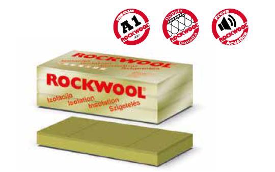Pannello rigido in lana di roccia Hardrock Energy plus per isolamento