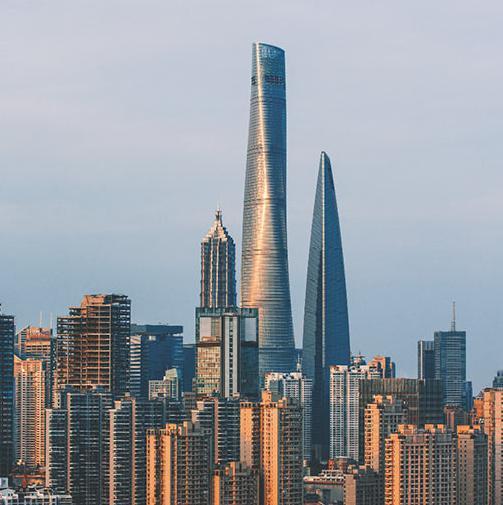 La Shanghai Tower, il grattacielo più alto della Cina