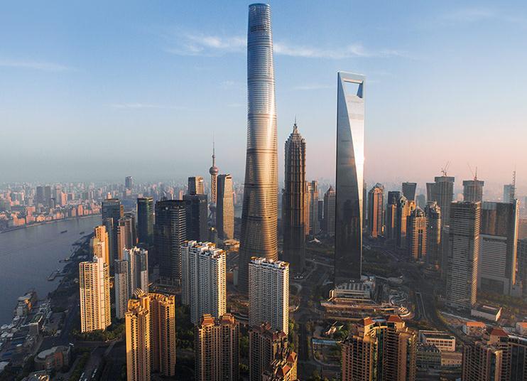 Shanghai Tower ha cambiato lo skyline della città
