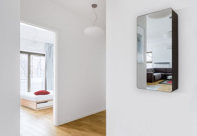 Osa mirror, caldaia efficiente e oggetto di design
