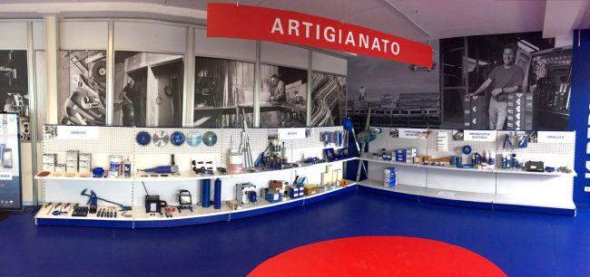 Berner lab punto vendita monomarca presso la sede aziendale di Verona