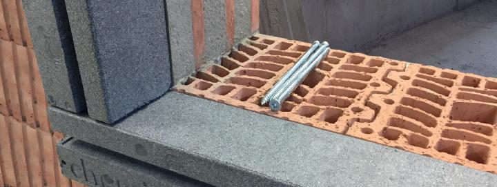 Sistema esterno per l'installazione di serramenti ISO-TOp Winframer di Berner