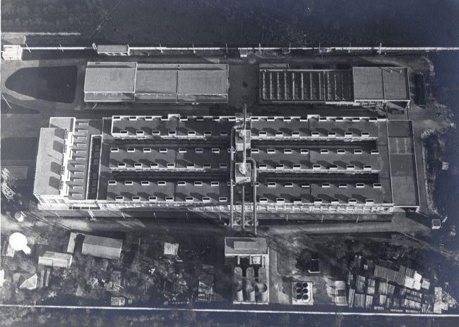 L'antica fabbrica industriale di alluminio dalla cui riqualificazione è nato NOI Techpark