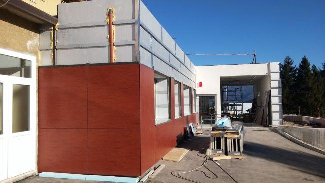 Isotec parete è facilmente lavorabile in cantiere, forabile e sagomabile