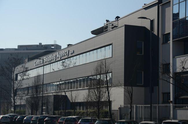 Sistemi di rivestimento Alubel per la sede Central Shipping Agency di Milano