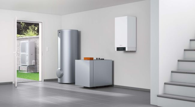 Sistemi ibridi Viessmann per riscaldare in modo efficiente e vantaggioso