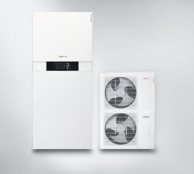 Pompa di calore aria/acqua reversibile Vitocaldens 222-F