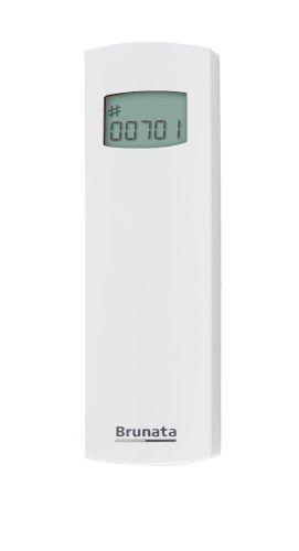 Brunata FUTURA 100 modello base di ripartitore dei costi del calore plug&play