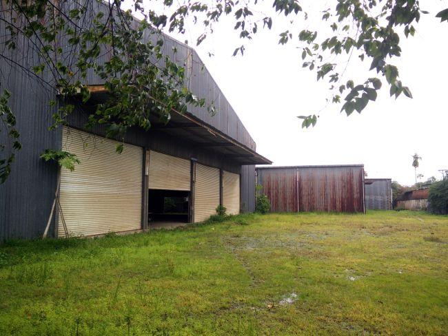 L'edificio esistente abbandonato da cui è nata la fabbrica Desino