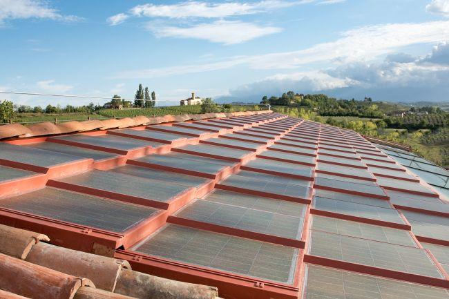 Solarteg, il tetto che produce energia