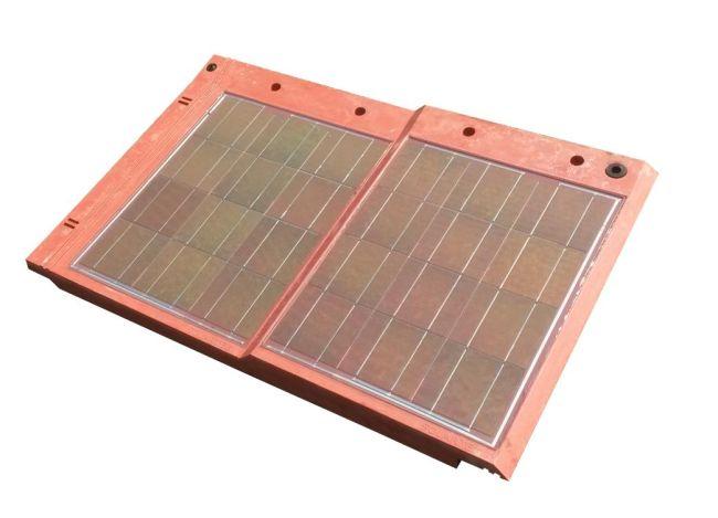 Copertura fotovoltaica Solarteg senza cavi