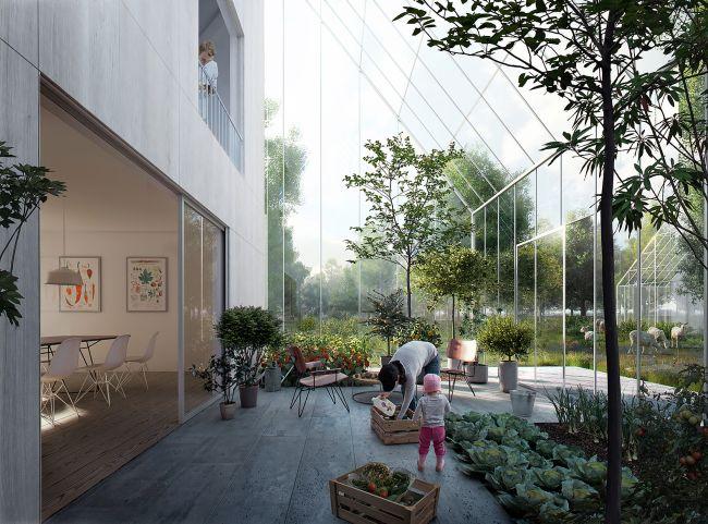 Le abitazioni di ReGen con spazi per la coltivazione