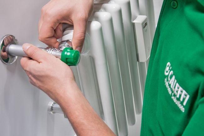 Valvola per termostati Dynamical di Caleffi