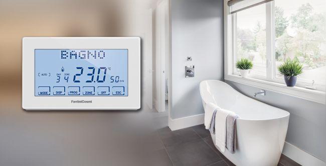 Intellicomfort+ sistema di termoregolazione ambienti di Fantini Cosmi
