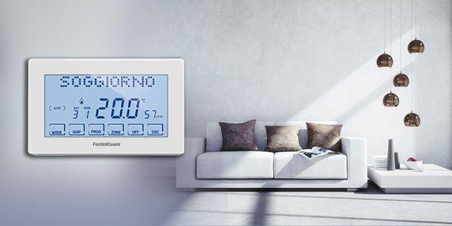Termoregolazione Fantini Cosmi per la temperatura desiderata in ogni ambiente della casa