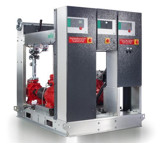 Sistema di pressurizzazione idrica Wilo SiFire EN