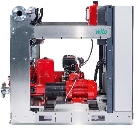 nuovo sistema di pressurizza-zione idrica antincendio Wilo SiFire EN