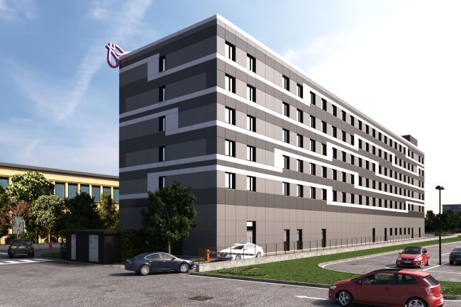WOOD BETON General Contractor del  Moxy Hotel Di Linate