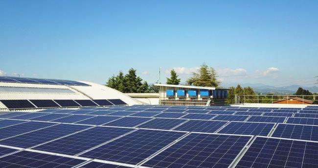 Inverter SMA per l'impianto fotovoltaico della cooperativa agricola di APO Scaligera.