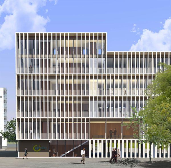 IDF Habitat Headquarter, edificio versatile, efficiente firmato Piuarch