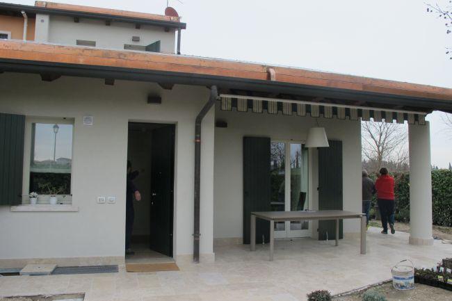 Pompa di calore CALDENSA di Thermics nella ristrutturazione di una villetta nel veronese