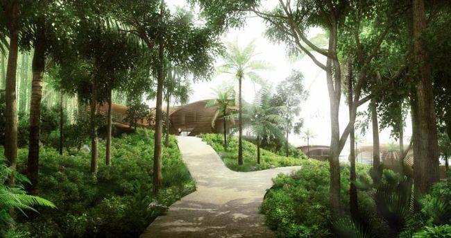 In via di realizzazione a Bali le 6 ville ecologiche Tsuboni Villas