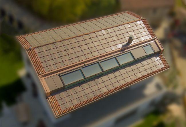Tetto fotovoltaico Solarteg