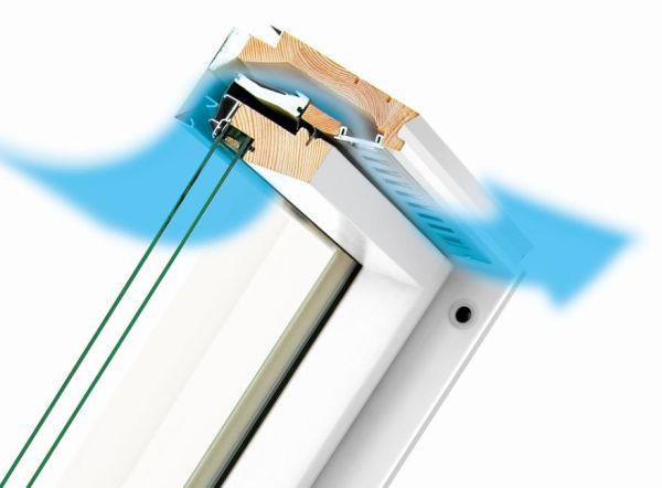 Comfort abitativo e costante ricambio d'aria con il sistema di ventilazione V40P di FAKRO