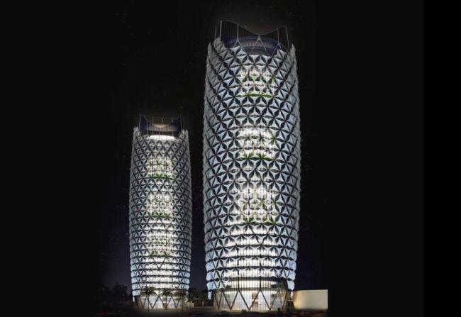 Le torri Al Bahar Towers sono un esempio vincente di bio-edilizia