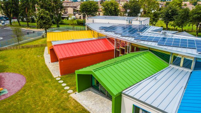 Impianto fotovoltaico nella scuola di Bagnolo Mella
