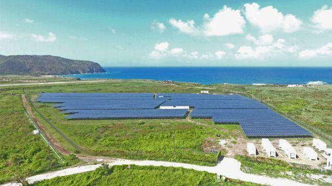Una soluzione SMA garantisce il 100% di energia solare all'isola caraibica di Sant'Eustachio